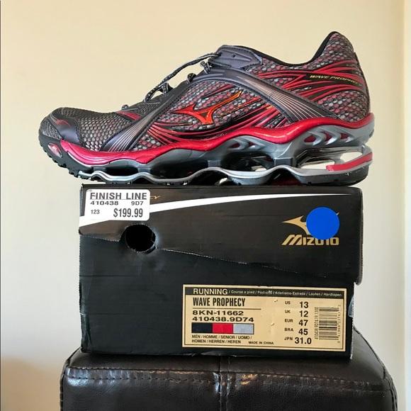 Mens Mizuno Wave Prophecy Running Shoe